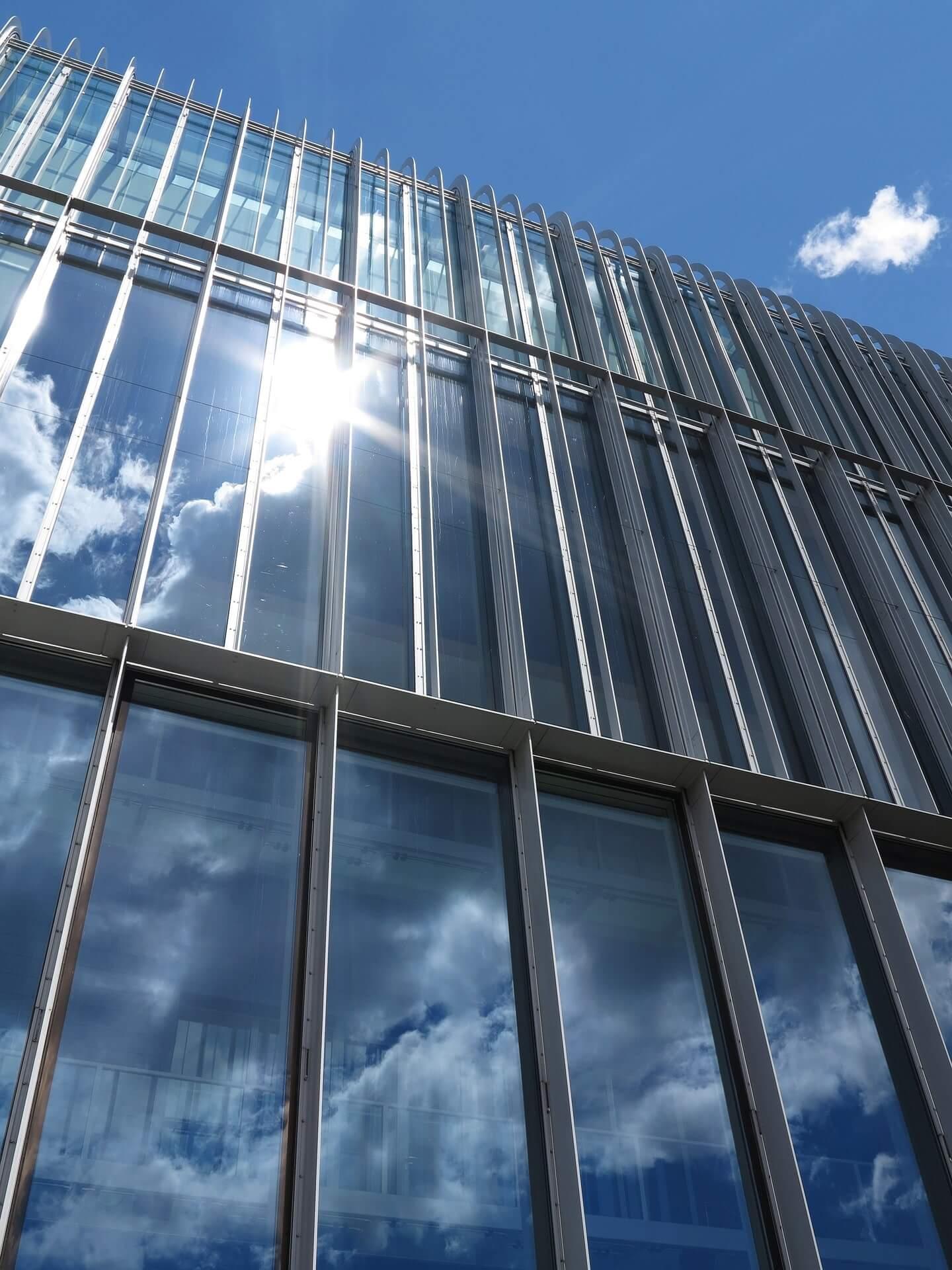 Glasfassadenreinigung Kiel